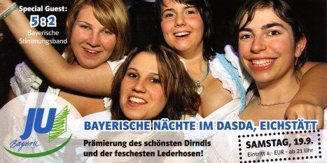Bayerische Nächte im DASDA
