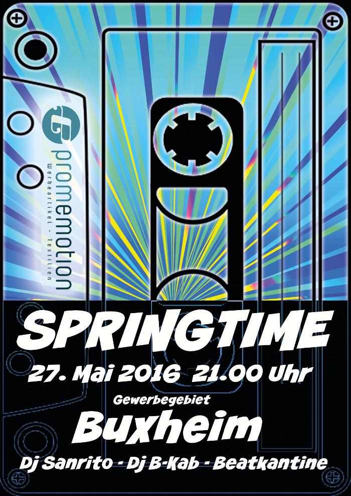 Ankündigung SpringTime 2016